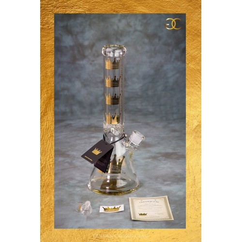 "Golden Crown's Special Edition Signature Waterpipe  (14"")"