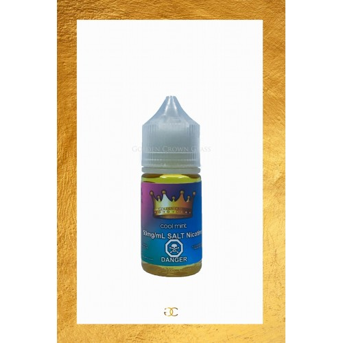 Golden Crown Salt Nicotine E Juice Cool Mint