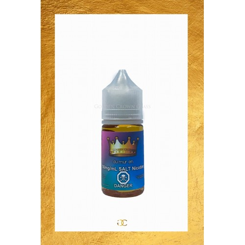 Golden Crown Salt Nicotine e Juice du mur eh