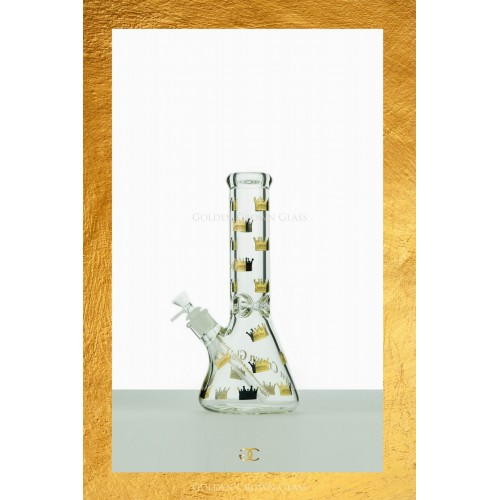 "The Royal Crown Waterpipe 12"" by GOLDEN CROWN"